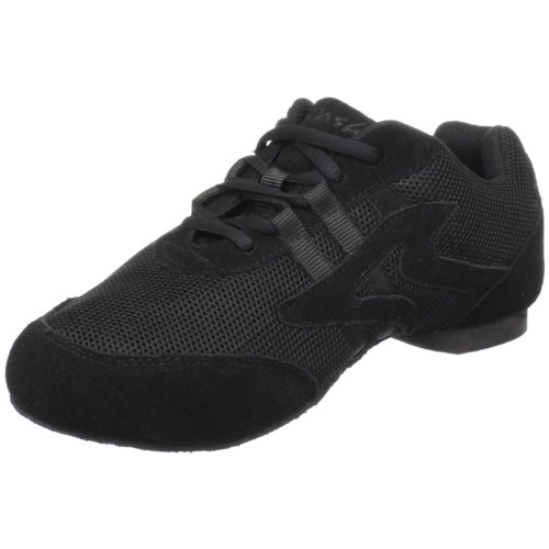 Sansha Salsette 1 Jazz Sneaker,Black, size 14 (Salsa Shoes Men)