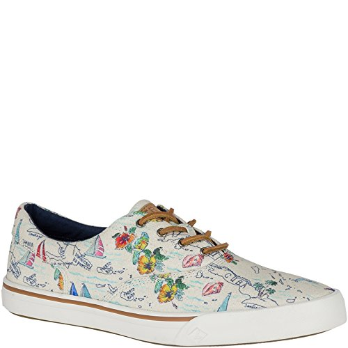 Sperry Top-sider Striper Ii Cvo Map Stampa Sneaker Multi