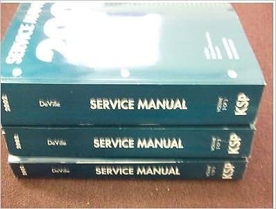 2002 Cadillac Deville Service Repair Shop Manual Set Factory Oem 02