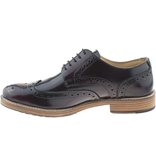 eu 42 Gibson Capped Leather Blood 8 uk Shoes Brogue Wing Kd Roamers Eyelet Mens Ox 5 M891bd pRqfwxZfa