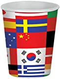 Beistle International Flag Cup 8cups%2C9