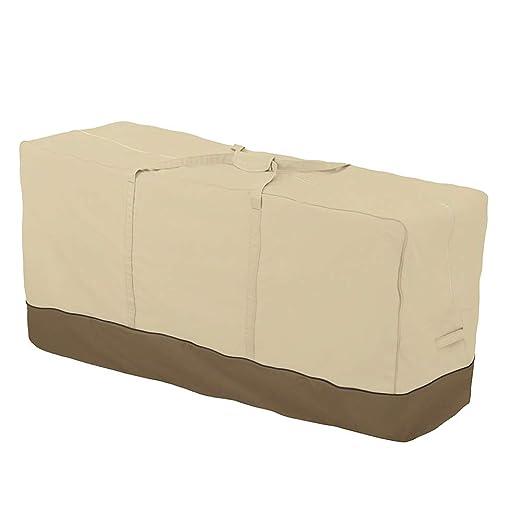 Impermeabile Cuscino per Albero di Natale Micha22ya in Tessuto Oxford 210D Extra Large Rettangolare per Patio Resistente Borsa portaoggetti per Cuscini da Giardino