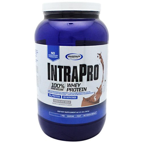 Gaspari Nutrition Intrapro - Chocolate Milk - 2 Lbs. (907G) - Gaspari Nutrition Vitamins Supplements