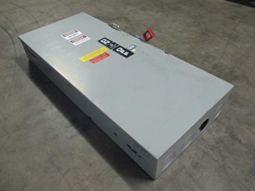 GE TH3365 400A 600V Fusible Heavy Duty Safety Switch 400 Amp Disconnect Mod 7