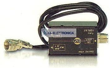 Zetagi DX-27 CB Mix mezclador Antena cb para coche