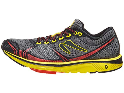 Newton Running Men's Motion 7 Charcoal/Yellow 8 D US