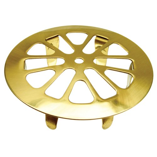 Danco 88928 Snap-In Tub Strainer, Polished (Brass Sink Strainer)