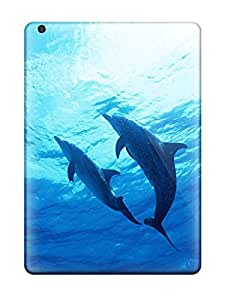 Charejen TvOZrDM2235xFdPH Protective Case For Ipad Air(dolphins)