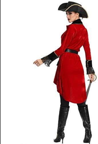 HZH Disfraz de Pirata Mujeres de Halloween, Que Incluye Sombrero ...