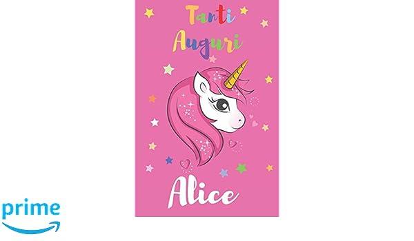 Amazon.com: Tanti Auguri Alice: Regali per Bambini o Bambine ...