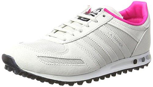 grey Collo Adidas ftwr White La Trainer J Sneaker One F17 – Bianco Basso A Unisex Bambini grey F17 XfHPX