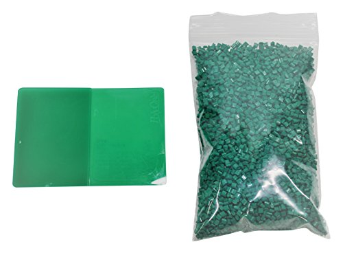Hd Printables 51 Pla Master Batch Colorant And 2 Kg Or 4 4 Lb  Of Ingeo 4032D Pellets  80 G  Translucent Green