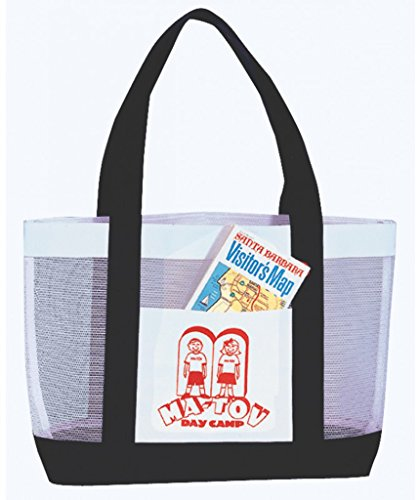 DDI 1902418 Mesh Tote Bag - Black by DDI