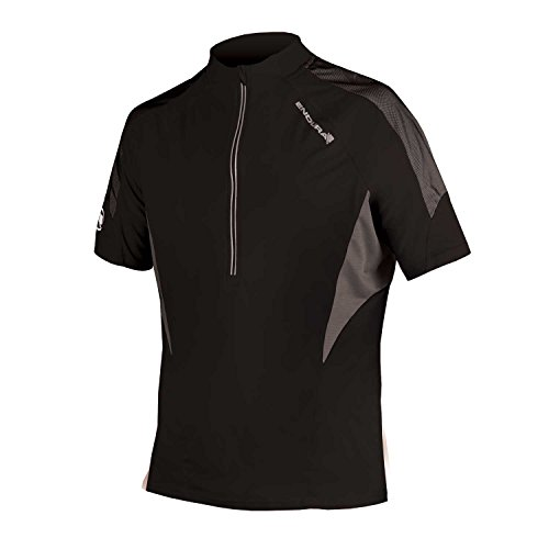 Endura Hummvee Lite Short Sleeve Cycling Jersey Black, Small ()