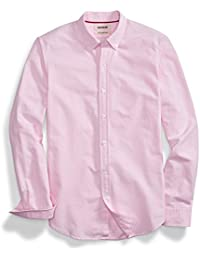 Men's Slim-Fit Long-Sleeve Solid Oxford Shirt