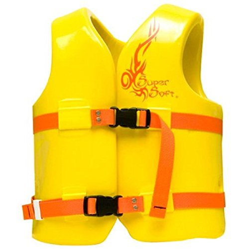 Trc Recreation Kids Super Soft Vinyl Vest  Yellow  Small