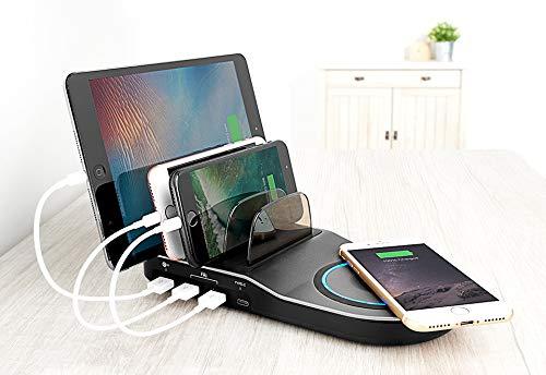 Sharper Image 2-in-1 USB Charging Station