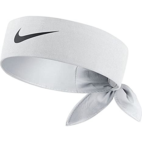 Amazon.com   Nike 646191-100   Dri-Fit Tennis Headband White Black ... cdfb64dc28a