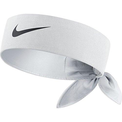 Nike 646191-100 : Dri-Fit Tennis Headband White/Black