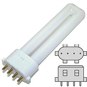 bulb for osram sylvania 20318 cf13ds e 841 dulux s e 13w 41k lamp 13watts. Black Bedroom Furniture Sets. Home Design Ideas