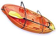 GOSWIFT Kayak Storage System, Canoes Wall Rack Holders, Adjustable Storage Straps Garage Hangers, 100LBS(45KGS