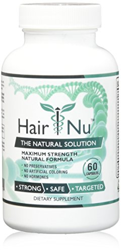 HairNu Natural Hair Growth Solution / Dietary Supplement, 1 Bottle – 60 Capsules by HairNu (Image #3)