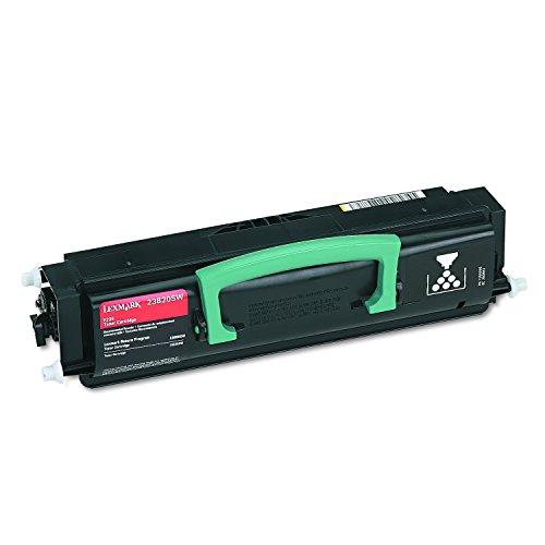 - Lexmark 23820SW Black Toner Cartridge