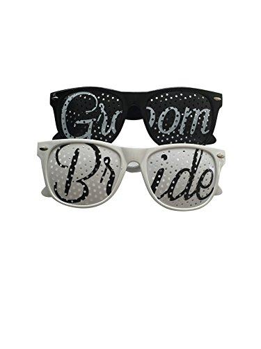 Unik Occasions Bride and Groom Wedding Party - Sunglasses Groom Bride