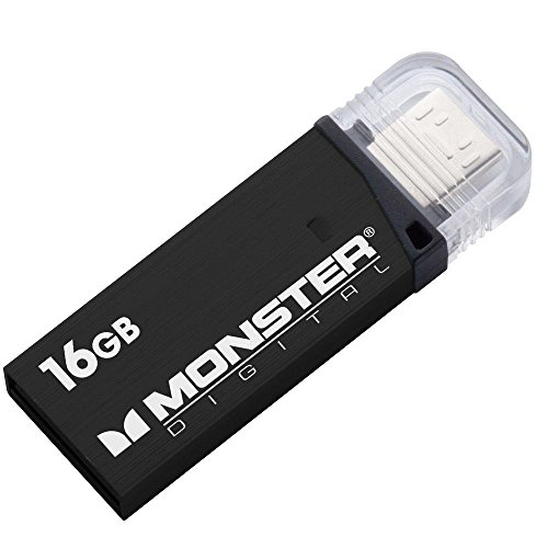 Monster Digital 16GB 80/mbs USB 3.0 On-The-Go Flash - Monster Usb Flash Drive