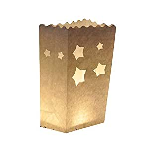Glo-Wax–Juego de 10bolsas para velas (estilo F) con libre velas de té de 10horas