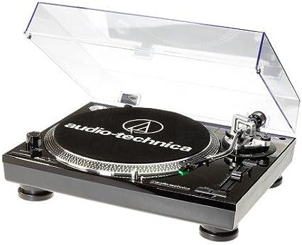 Audio Technica AT-LP120USB - Tocadiscos para equipo de audio ...
