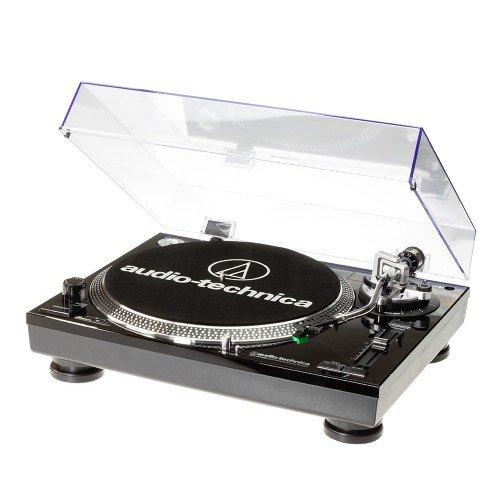 Audio-Technica AAT-LP120USBHCBK USB Turntable with HS10 Headshell - Black