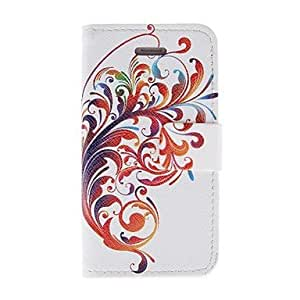 Kinston Magnificent Lace Pattern PU Leather Full Body Case with Stand for iPhone 4/4S