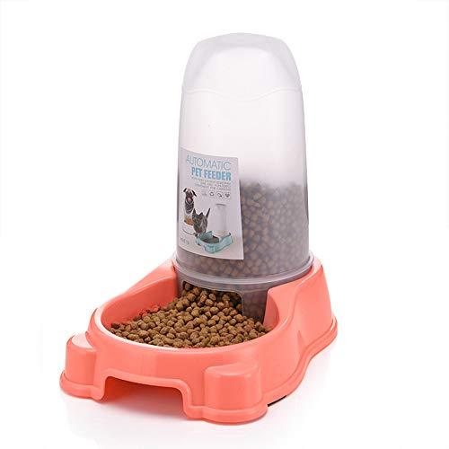 DIYurfeeling Pet Waterer Feeder, Pet Automatic Waterer, Dog Water Dispenser, Cat Dog Food & Water Dispenser