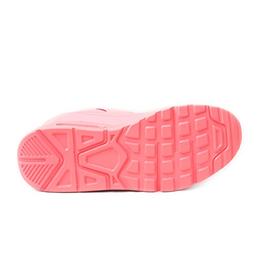 Kinder Marimo Sneaker Laufschuhe Herren Fitness Turnschuhe Trendige Unisex Schnür Neonpink Sport Damen trwtqABc4
