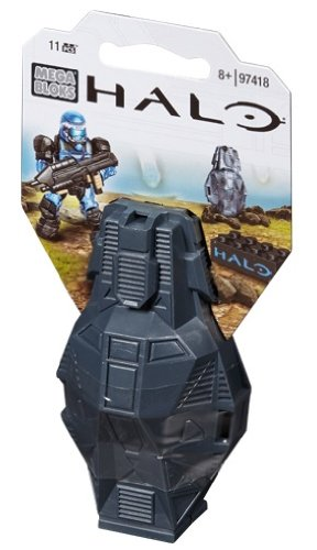 Mega Bloks Halo Metallic Blue ODST Toy Figure