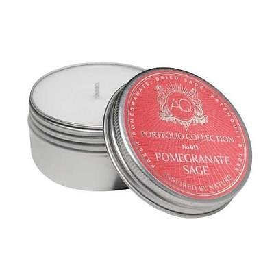 OKSLO AQUIESSE Pomegranate Sage Soy 20 Hr Travel Tin Candle