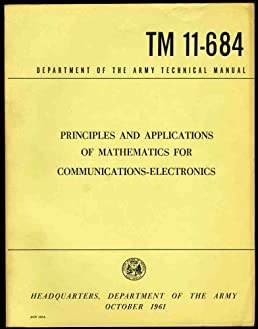 army technical manual tm 11 684 principles and applications of rh amazon com Electronic Technical Manuals Comptuers army electonic technical manuals