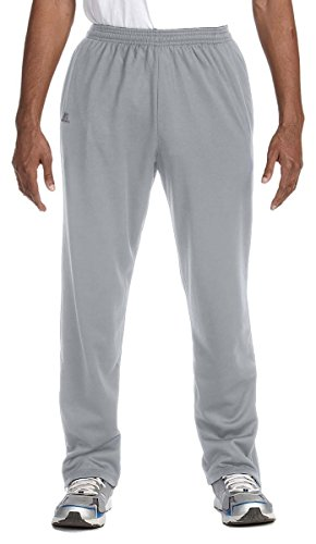 Russell Athletic Tech Fleece Pant, Medium, STEEL