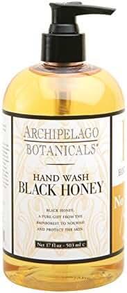 Archipelago Botanicals Black Honey Hand Wash, 17 Oz
