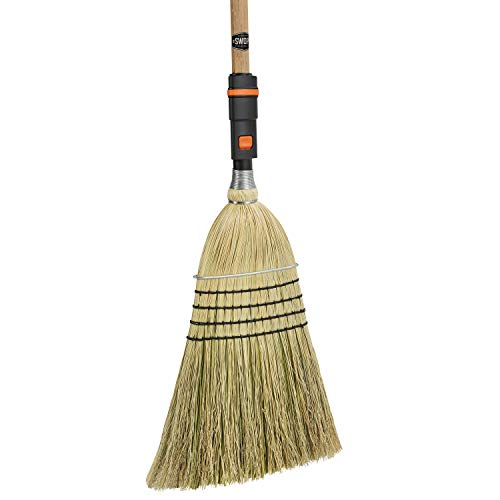 SWOPT Heavy-Duty Corn Broom - 48
