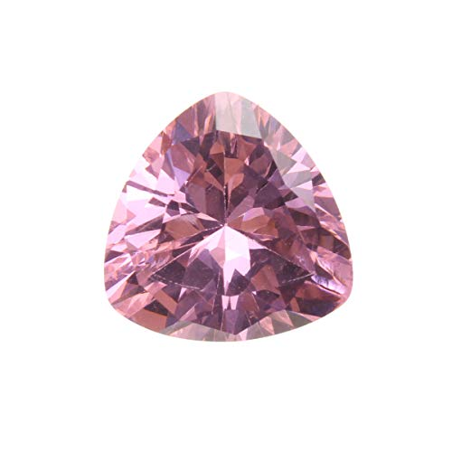 (WD Jewelry Pink Sapphire Unheated Trillion Cut DIY Making)