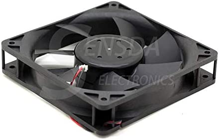 For Nidec TA450DC A34344-16 AST 12cm 120mm DC12V 0.30A Server 120x120x25mm 2-wire axial cooling fan