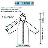 HLK.Sports Raincoat, [2 Pack] Portable EVA Rain