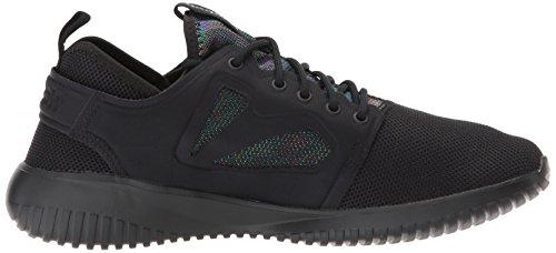 Reebok Dames Skycush Evolution Lux Fashion Sneaker Zwart