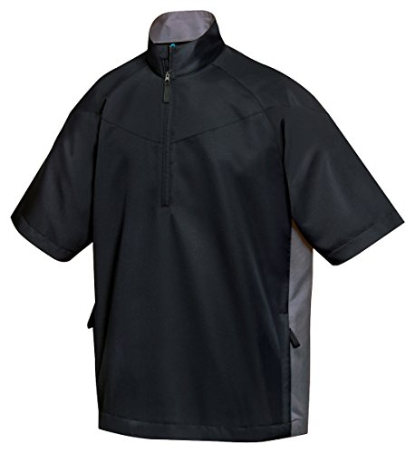 Tri-Mountain All Season Half Zip Short Sleeve Windshirt - 2610 Icon (Rain Golf Pullover)