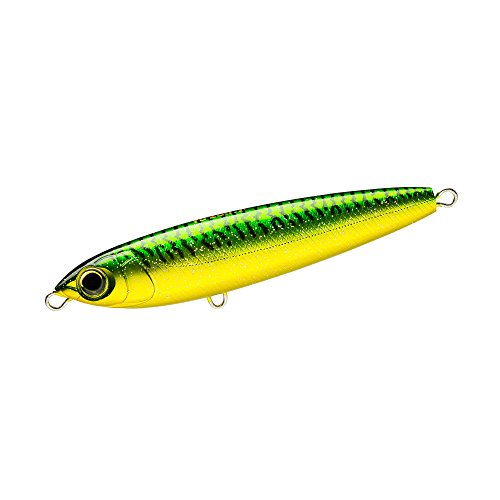 Yo-Zuri R1153-GM Hydro Pencil Floating Lure, Green Mackerel