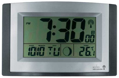 acctim radio controlled lcd wall clock amazon co uk kitchen home rh amazon co uk acctim radio controlled clock instructions hd 1688 acctim radio controlled clock instructions hd 1688