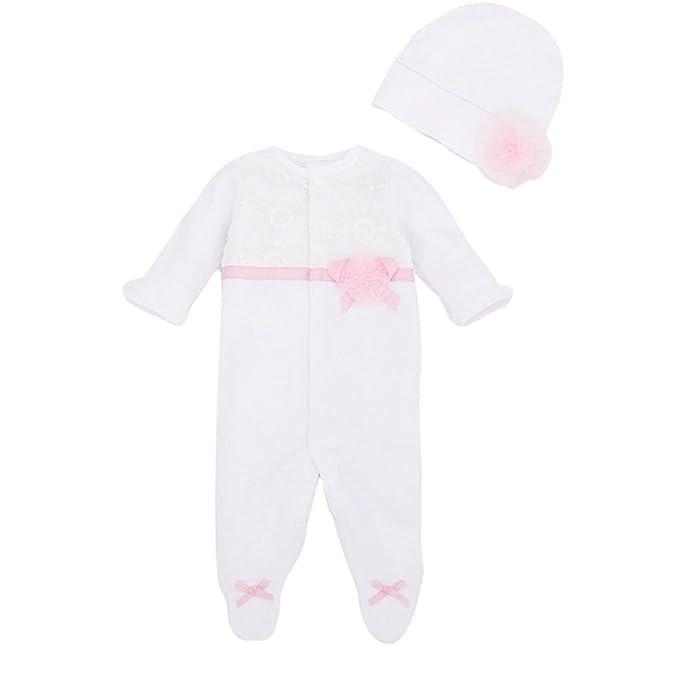 Bebone Mameluco Pelele Bebé Niñas Pijama de Rompers Manga Larga con Gorro: Amazon.es: Ropa y accesorios