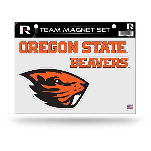 (Rico Industries NCAA Oregon State Beavers Die Cut Team Magnet Set)